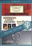 EMERSON, LAKE AND PALMER PICTU/WIGHT/MONTREUX 3DVD