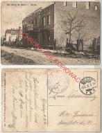 Gołdap, wojna, ruiny, poczta polowa, 1916