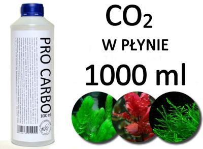 PRO CARBO: CO2 w płynie PROMOCJA 29 zł za 1 litr!