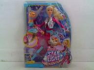 MATTEL DWD24 Barbie lalka Barbie i latający kotek
