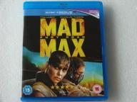 MAD MAX FURY ROAD BLU-RAY DISC UK IDEAŁ