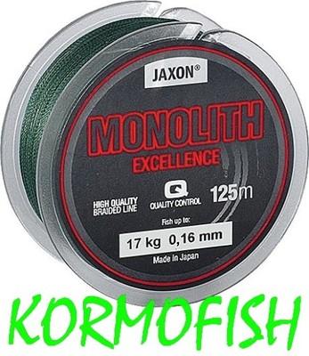 PLECIONKA JAXON MONOLITH EXCELLENCE 0,10mm / 125m