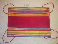 Hamak patchwork hand made dla fretki szynszyli