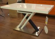 sprzedam biały stół rozkładany 130/80 (170/80)