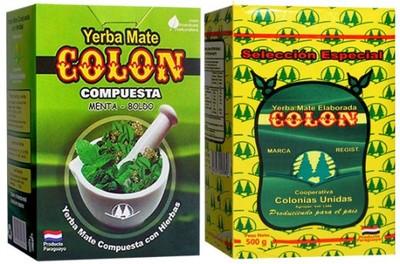 Yerba Mate COLON ESPECIAL i MENTA BOLDO 2 x 500 g