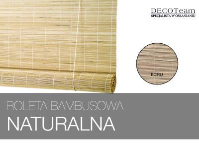 Roleta Bambus Naturalny Altany Ecru 60x165 Cm 5378542851