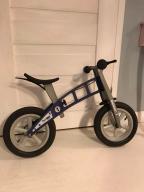 Rowerek biegowy First Bike niebieski