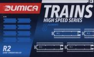 Dumica Short Straigh Rail set R2