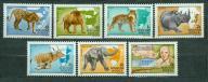 WĘGRY** Afrykańskie zwierzęta  Mi 3470-76