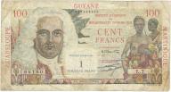 Antyle Francuskie 100 francs 1961r b.rzadki