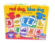 5116-4 ...ORCHARD TOYS... a#g GRA RED DOG BLUE DOG