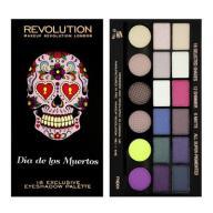 Makeup Revolution paleta 18 cieni Dia De Los