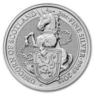 2 oz 2017 Jednorożec srebrna moneta inwestycyjna