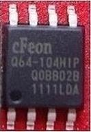 CHIP FLASH EEPROM SMD EN25Q64-104HIP 8MB