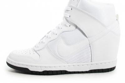 size 40 8d8b4 6b409 Buty damskie Nike Dunk Sky Hi białe r.