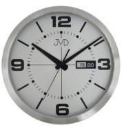 ALUMINIOWY zegar ścienny JVD HO255.2 35 cm DATA