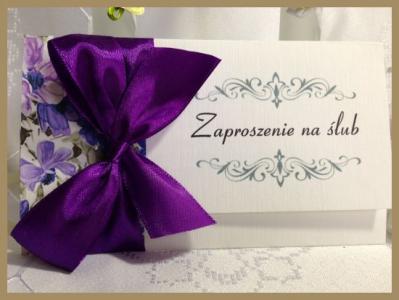 Zaproszenia ślubne Silver Koperta 60 Sztuk 5129345279