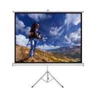 """ART Ekran ręczny na statywie 1:1 60"""" 152x152c"""
