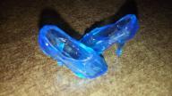 Buty buciki dla lalek typu barbie szklane