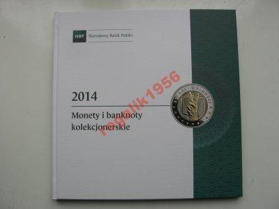 NBP monety i banknoty kolekcjonerskie 2014 OKAZJA
