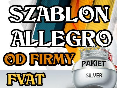 INDYWIDUALNY SZABLON AUKCJI ALLEGRO +FVAT SZABLONY