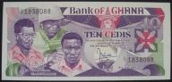 Ghana - 10 cedis - 1984 - stan bankowy UNC