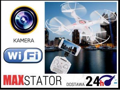 DRON D97 PODGLĄD NA TELEFONIE KAMERA Wi-Fi Z101