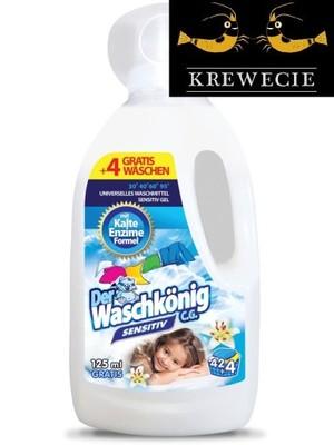 Der Waschkonig Sensitiv Gel 42+4 prania 1,625l