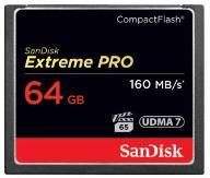 Karta pamięci Sandisk CompactFlash EXTREME PRO 64