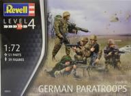 Revell 02521 German Paratroopers Modern 1/72