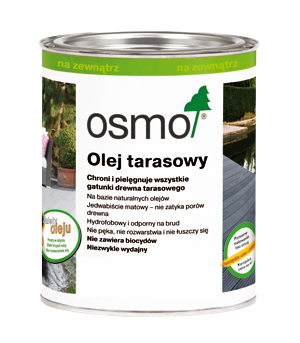 OLEJ DO TARASÓW OSMO 010 TERMODREWNO 2,5L GLIWICE
