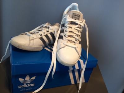 5d3c94b2ba1d4 buty adidas court star rozm 42 z metki 43 1/3 - 4627745265 ...