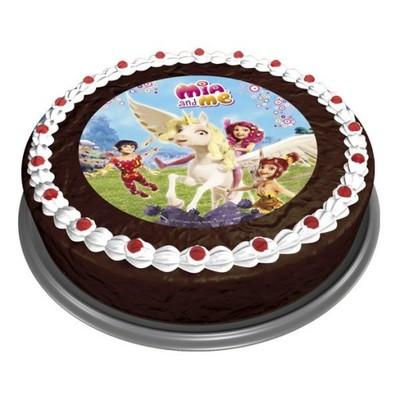 Opłatek Na Tort Dekoracja Urodziny Mia Me 5307550031 Oficjalne