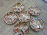 Podstawki porcelanowe pod kubek 6szt