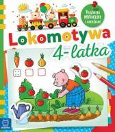 Lokomotywa 4-latka Książeczka Edukacyjna... 24h