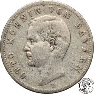 Niemcy Bawaria 2 Marki 1896 D Monachium st.3