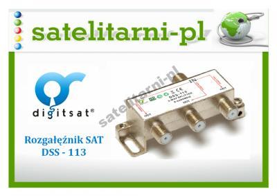 Rozgałęźnik SAT Digitsat DSS113 na 3 wyjścia