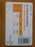 karta chipowa 192 D 1.01.2011