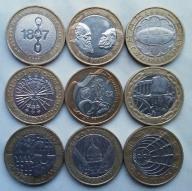 Zestaw 9 x 2 funty GBP okolicznościowe