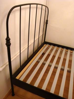 By Photo Congress Metalowa Rama łóżka Ikea