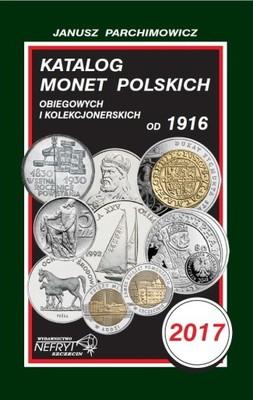 Katalog monet polskich - Parchimowicz 2017 -NOWOŚĆ