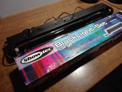 Lampa UV. Showtec Blacklight set. Ultrafiolet