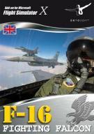 F-16 Fighting Falcon Add-On for FS 2004/FSX (PC CD
