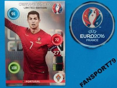 Karta Euro 2016 Limited Cristiano Ronaldo Classic 6628353264 Oficjalne Archiwum Allegro