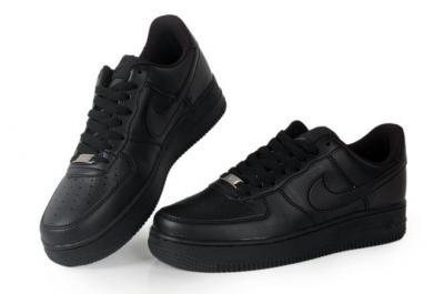 Nike Air Force 1 Low Czarne 41 Hologram 24H