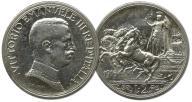 39.WŁOCHY, VITT.EMANUEL III, 2 LIRY 1916