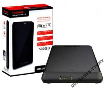 Toshiba Stor.E Basics 500GB USB 3.0 Black TYCHY