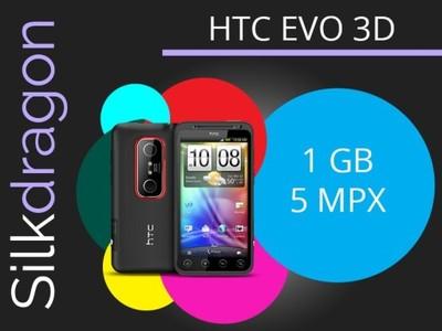 HTC EVO 3D GW PL BEZ SIMLOCK PL MENU 2 KOLORY