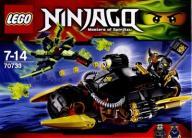LEGO MOTOCYKL COLEA (70733) [KLOCKI]