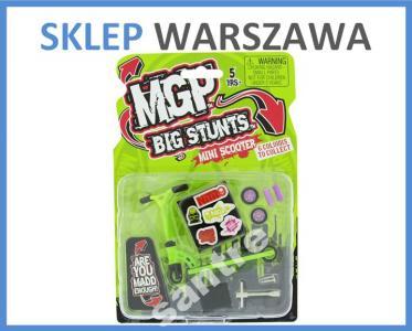 Mgp Fingerscoot Big Stunt Mini Hulajnoga Zielona 2700102452 Oficjalne Archiwum Allegro